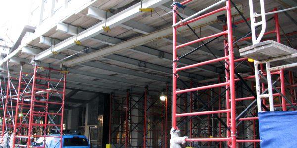 Sidewalk Canopies & Overhead Protection