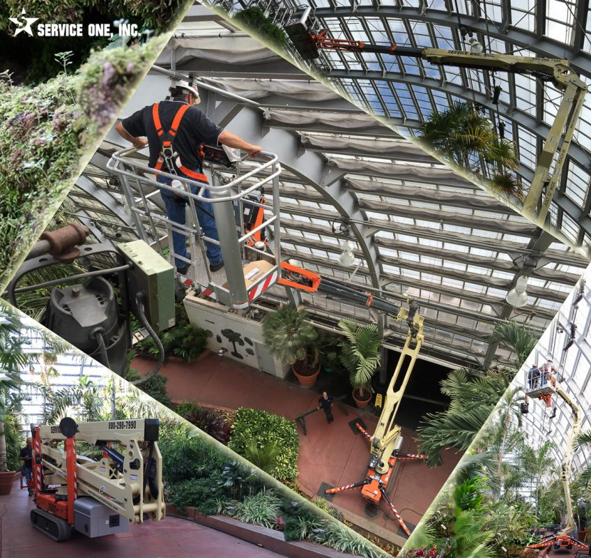 Atrium Lifts – Compact Booms | Service One Access