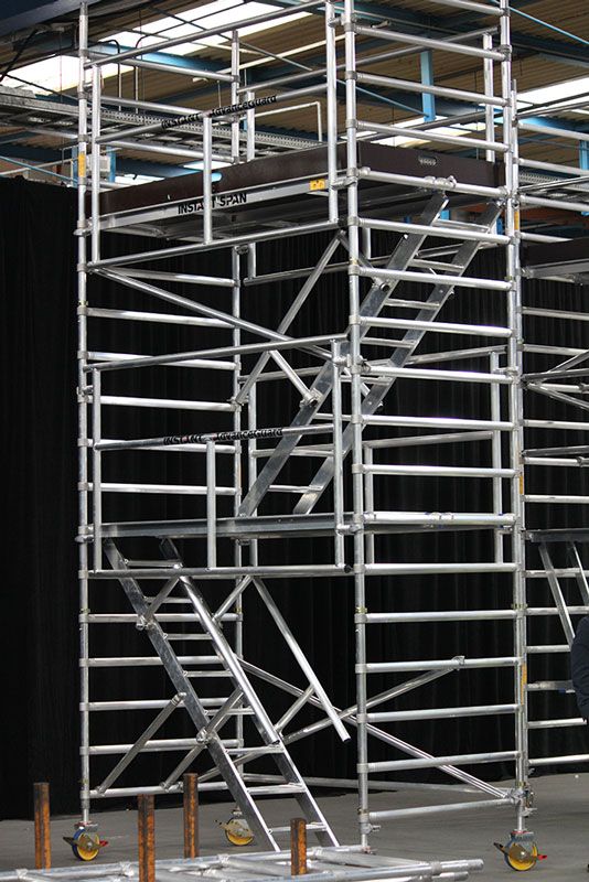 Instant Upright Aluminum Scaffold Service One Access